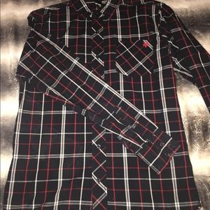 Zoo York Long-sleeve button up size Medium